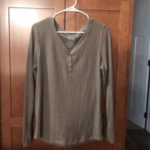 Time and Tru Long Sleeve Shirt